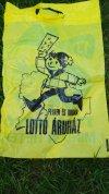Lotto reklámzacskó
