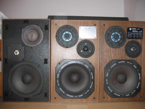 Orion HS 280 hangsugárzó generációk...