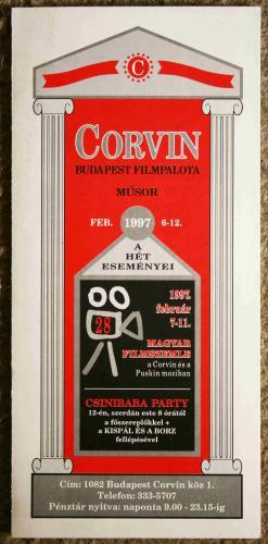 Corvin műsor
