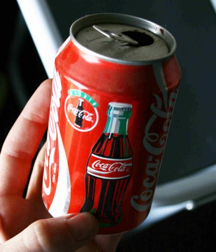 Coca-Cola dobozos