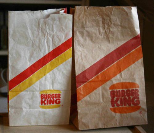 Burger King zacskók