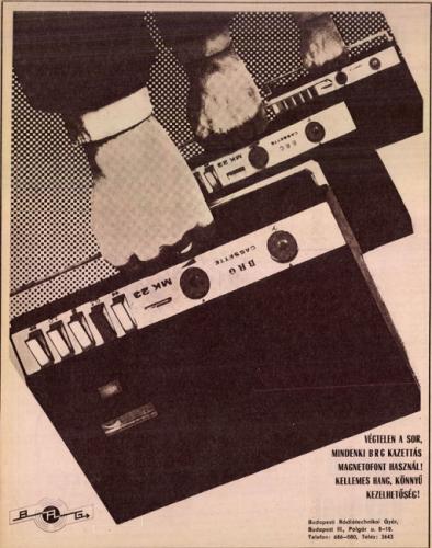 BRG MK 22 reklám 1971