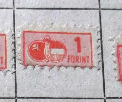 Tagdíj bélyeg