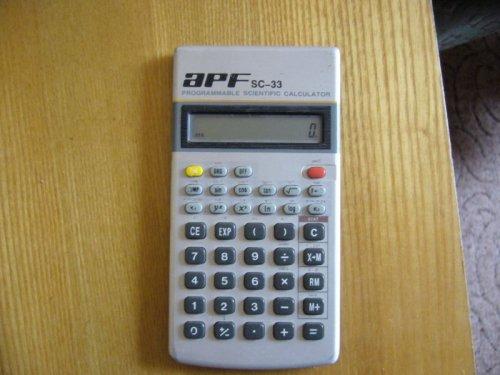 APF számológép - SC-33