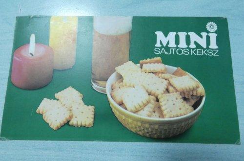 Mini sajtos keksz