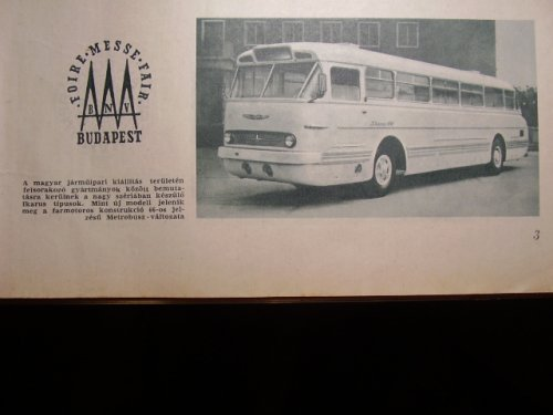 Ikarus 66 Faros Metrobusz