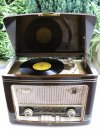(Siemens A) WSW Phono Tango 58 589W rádió lemezjátszó