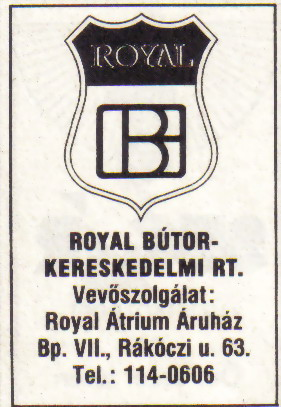 Royal bútor