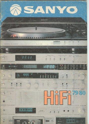 Sanyo Hi-Fi torony prospektus