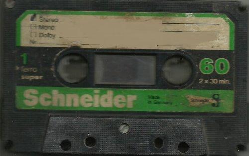 Schneider kazetta