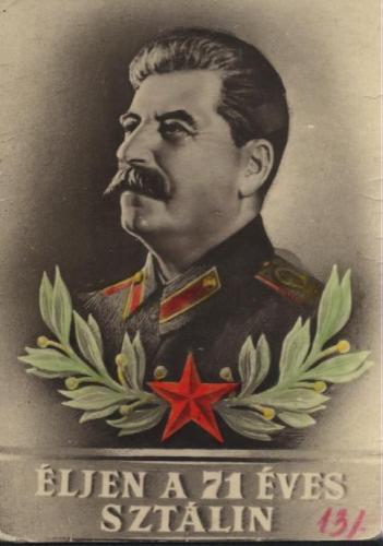 Sztálin emléklap