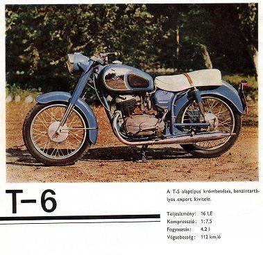 Pannonia T-6 motorkerékpár