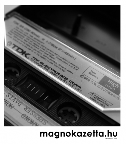 TDK kazetta - SA C90