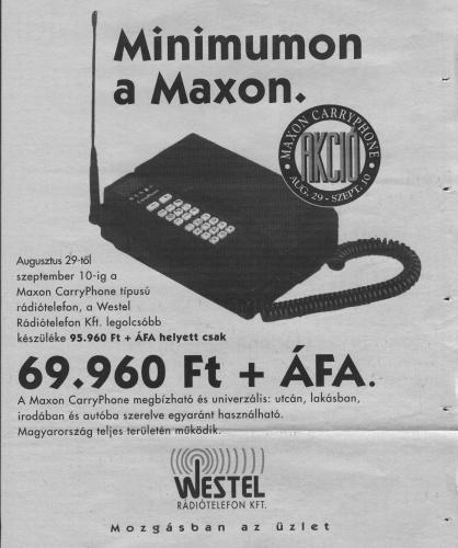 Westel mobiltelefon