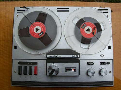Telefunken magnetophon 201 TS