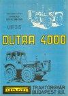 Dutra traktor - UE35 prospektus