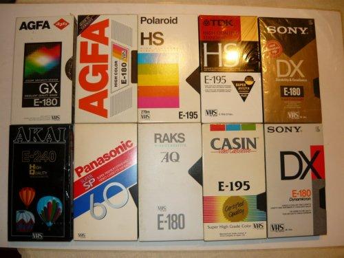 VHS kazetták 1989-