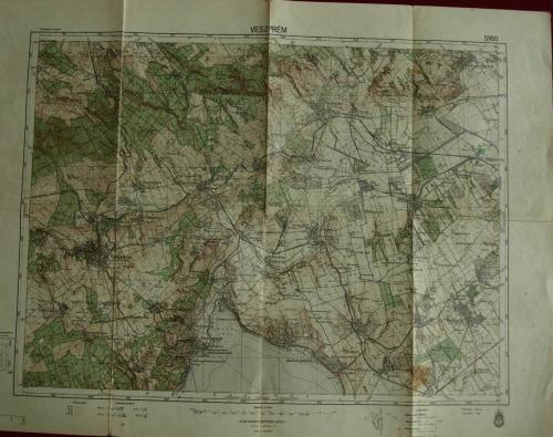 Veszprém térkép