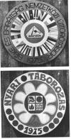 Zánka Úttörőváros emblémák