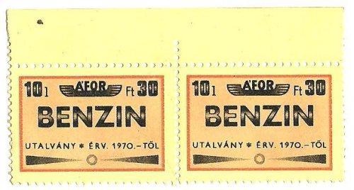 ÁFOR BENZIN 10L 30Ft