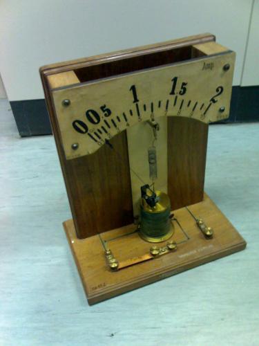 Ampermérő bemutató eszköz