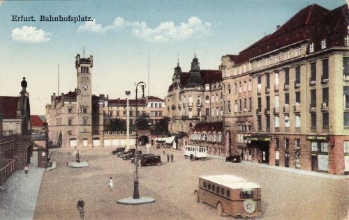 Erfurt Állomás tér