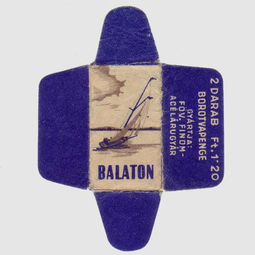 Borotvapenge Balaton