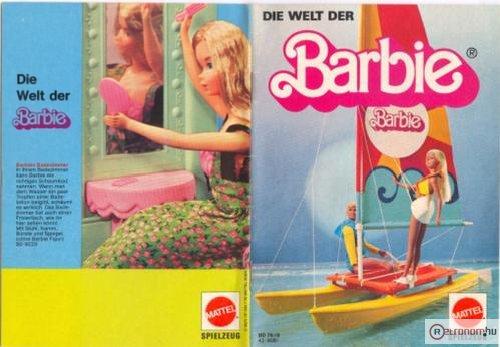 Barbie katalógus a Matteltől
