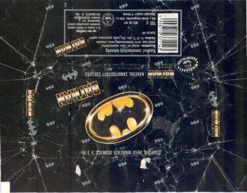 Batman csokoládé
