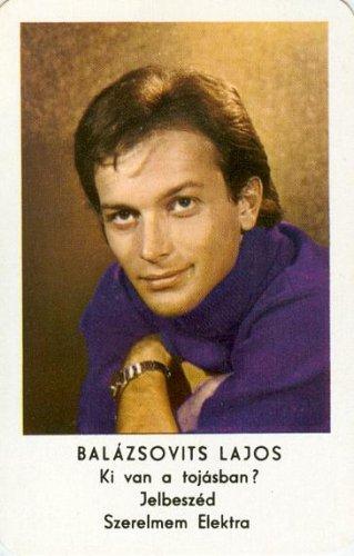 Balázsovits Lajos kártyanaptár