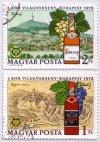 Első bor világverseny emlékbélyegek