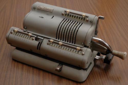 Calcorex mechanikus szorzógép
