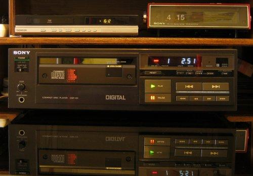 Sony CDP-101 a világ első cd játszója