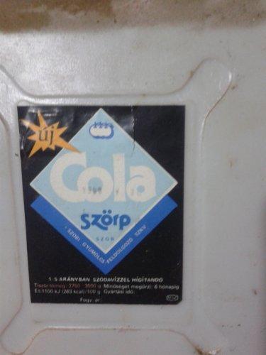 Szobi szörp Cola