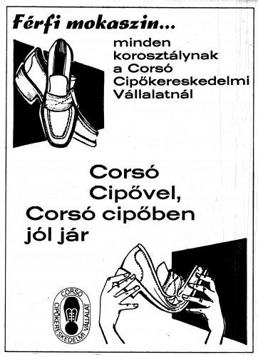 Corso cipő