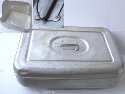 Alumínium ételdoboz
