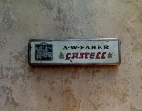 Faber Castell fémdoboz