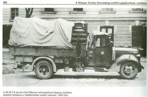teherautó fagázos