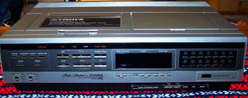 Fisher  FVH-P530 video recorder