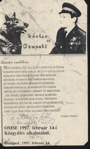 Kántor és Csupati