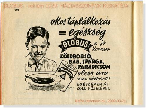 GLOBUS reklám