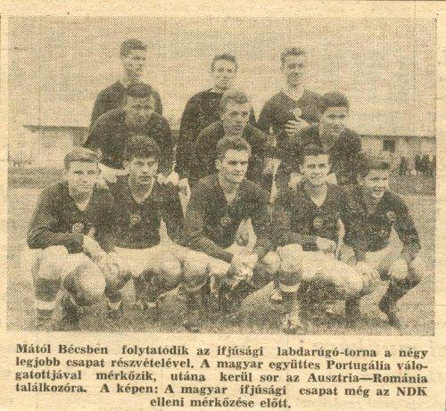 Labdarúgó ifjúsági válogatott