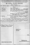 A Magyar Nemzeti Muzeum Barátainak Egyesülete --- értesítő 1936-ból