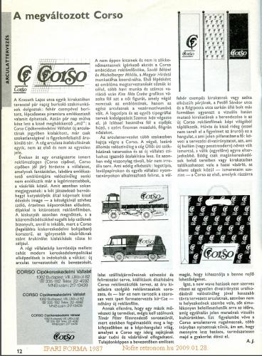 Ipari Forma 1987_6 12. oldal Corso cipő