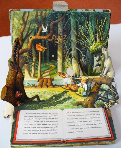 Jancsi és Juliska 3D-s mesekönyv