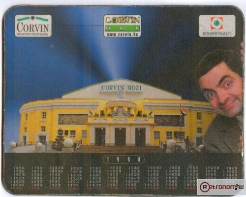 Corvin mozi - Egérpad-naptár Mr. Bean-nel