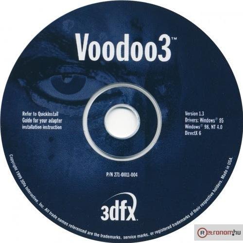 Voodoo3 Install CD