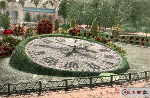 Margitszigeti járó virágóra