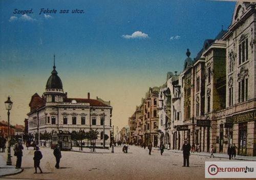 Szeged Fekete sas utca