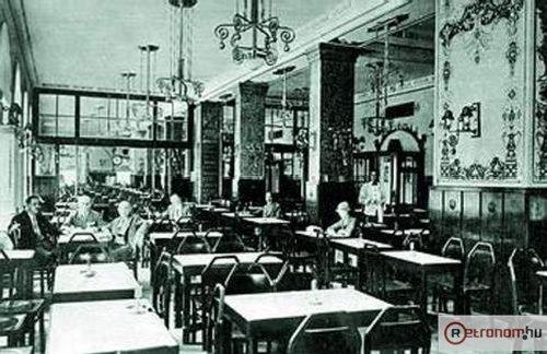 EMKE kávéház átalakítás után